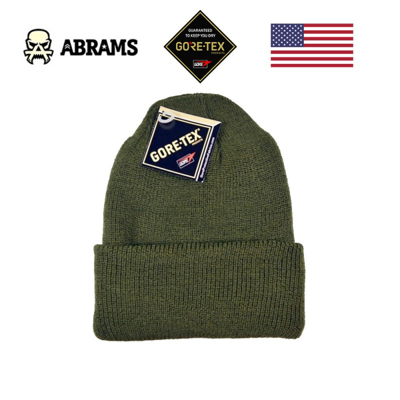 Шапка непромокаемая военная Gore Military Fabrics Gore Tex Watch Cap Olive