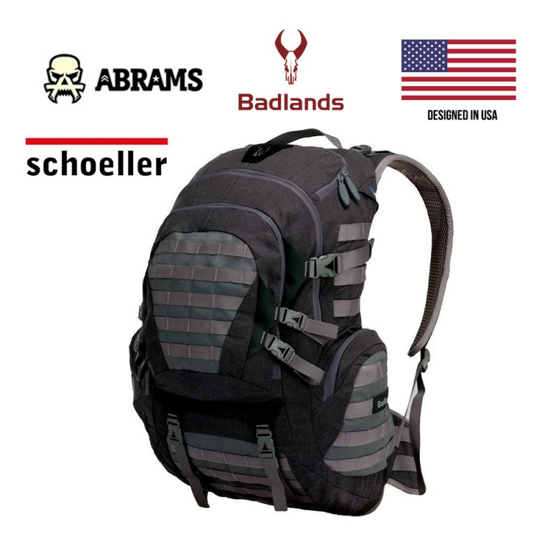 Рюкзак Badlands BTBOS BOS Tactical Backpack Schoeller Aramid Fabric Gray